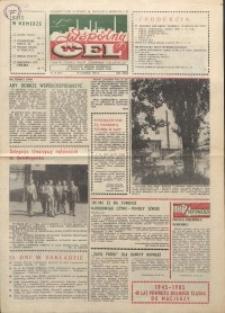 """Wspólny cel : gazeta załogi ZWCH """"Chemitex-Celwiskoza"""", 1985, nr 18 (955)"""