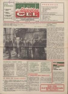 """Wspólny cel : gazeta załogi ZWCH """"Chemitex-Celwiskoza"""", 1985, nr 20! (958)"""