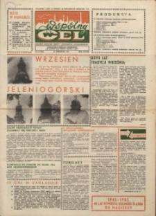 """Wspólny cel : gazeta załogi ZWCH """"Chemitex-Celwiskoza"""", 1985, nr 26 (963)"""