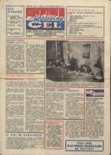 """Wspólny cel : gazeta załogi ZWCH """"Chemitex-Celwiskoza"""", 1985, nr 30 (967)"""