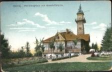 Görlitz. Weinberghaus mit Aussichtstrum [Dokument ikonograficzny]