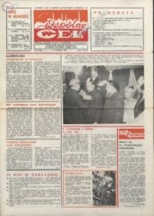 """Wspólny cel : gazeta załogi ZWCH """"Chemitex-Celwiskoza"""", 1986, nr 4 (977)"""