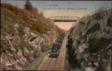 Görlitz. Durchblick der Gorlitz-Zittauer Eisenbahn [Dokument ikonograficzny]