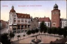 Görlitz. Marienplatz mit Demiani-Denkmal [Dokument ikonograficzny]