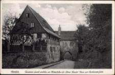 Görlitz. Finstertor durch welches im Mittelalter die Arme-Sunder-Gasse zur Richtstatte furthe [Dokument ikonograficzny]