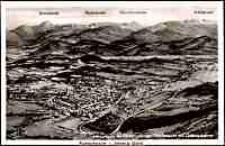 Jelenia Góra - Cieplice - panorama, w tle - Karkonosze - Śnieżne Kotły [Dokument ikonograficzny]