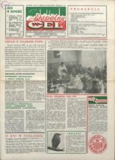 """Wspólny cel : gazeta załogi ZWCH """"Chemitex-Celwiskoza"""", 1986, nr 5 (978)"""