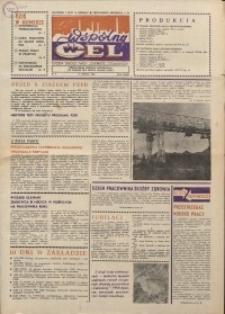 """Wspólny cel : gazeta załogi ZWCH """"Chemitex-Celwiskoza"""", 1986, nr 9 (982)"""