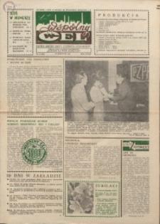 """Wspólny cel : gazeta załogi ZWCH """"Chemitex-Celwiskoza"""", 1986, nr 11 (984)"""