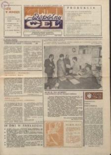 """Wspólny cel : gazeta załogi ZWCH """"Chemitex-Celwiskoza"""", 1986, nr 14 (987)"""