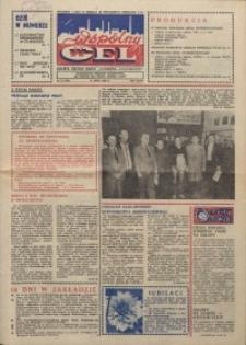 """Wspólny cel : gazeta załogi ZWCH """"Chemitex-Celwiskoza"""", 1986, nr 21 (994)"""