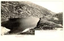 Riesengebirge. Kleiner Teich mit Teichbaude [Dokument ikonograficzny]
