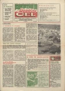 """Wspólny cel : gazeta załogi ZWCH """"Chemitex-Celwiskoza"""", 1986, nr 23 (996)"""