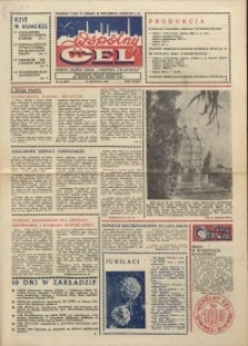 """Wspólny cel : gazeta załogi ZWCH """"Chemitex-Celwiskoza"""", 1986, nr 24 (997)"""
