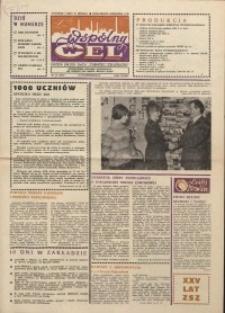 """Wspólny cel : gazeta załogi ZWCH """"Chemitex-Celwiskoza"""", 1986, nr 28 (1001)"""