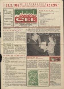 """Wspólny cel : gazeta załogi ZWCH """"Chemitex-Celwiskoza"""", 1986, nr 29 (1002)"""