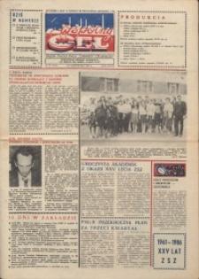 """Wspólny cel : gazeta załogi ZWCH """"Chemitex-Celwiskoza"""", 1986, nr 30 (1003)"""