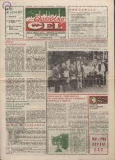 """Wspólny cel : gazeta załogi ZWCH """"Chemitex-Celwiskoza"""", 1986, nr 31 (1004)"""