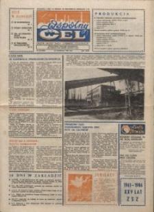"""Wspólny cel : gazeta załogi ZWCH """"Chemitex-Celwiskoza"""", 1986, nr 32 (1005)"""