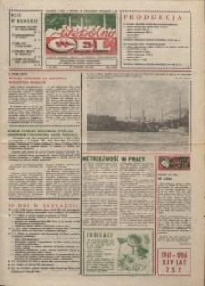 """Wspólny cel : gazeta załogi ZWCH """"Chemitex-Celwiskoza"""", 1986, nr 33 (1006)"""
