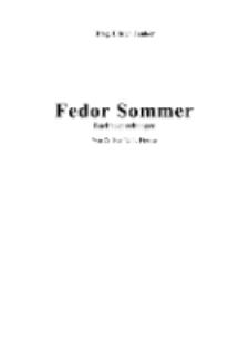 Fedor Sommer Buchbesprechungen [Dokument elektroniczny]