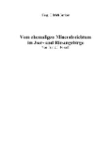 Vom ehemaligen Mineralreichtum im Jser- und Riesengebirge [Dokument elektroniczny]