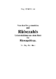 Von den Bergmännleins und Rübezahls Uebersiedelung aus dem Harz ins Riesengebirge [Dokument elektroniczny]
