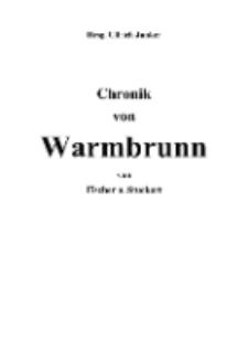 Chronik von Warmbrunn [Dokument elektroniczny]