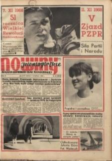 Nowiny Jeleniogórskie : magazyn ilustrowany ziemi jeleniogórskiej, R. 11, 1968, nr 45 (554)