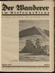 Der Wanderer im Riesengebirge, 1931, nr 4