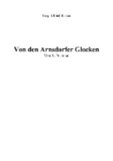 Von den Arnsdorfer Glocken [Dokument elektroniczny]