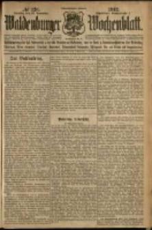 Waldenburger Wochenblatt, Jg. 58, 1912, nr 126