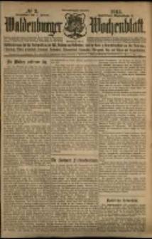 Waldenburger Wochenblatt, Jg. 59, 1913, nr 2