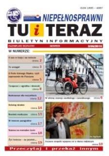 Niepełnosprawni Tu i Teraz : biuletyn informacyjny, 2010, nr 3 (36)