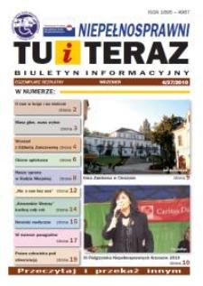 Niepełnosprawni Tu i Teraz : biuletyn informacyjny, 2010, nr 4 (37)