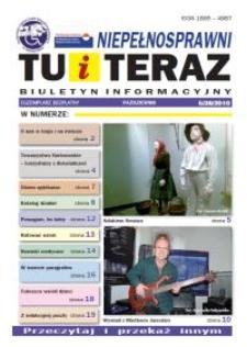 Niepełnosprawni Tu i Teraz : biuletyn informacyjny, 2010, nr 5 (38)