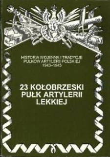 23 kołobrzeski pułk artylerii lekkiej