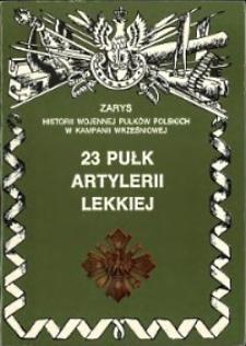 23 pułk artylerii lekkiej