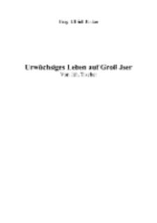 Urwüchsiges Leben auf Groß Jser [Dokument elektroniczny]