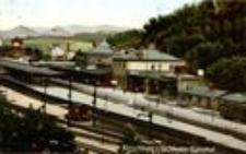 Jelenia Góra - dworzec kolejowy [Dokument ikonograficzny]
