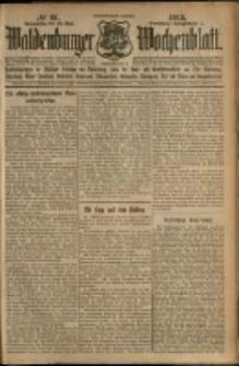 Waldenburger Wochenblatt, Jg. 59, 1913, nr 61