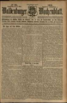 Waldenburger Wochenblatt, Jg. 59, 1913, nr 64