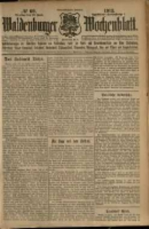 Waldenburger Wochenblatt, Jg. 59, 1913, nr 69