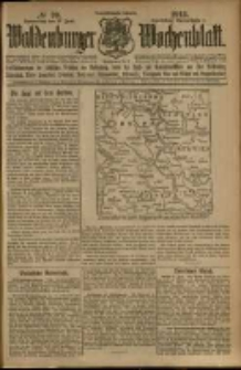 Waldenburger Wochenblatt, Jg. 59, 1913, nr 70
