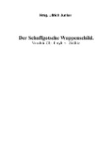 Der Schaffgotsche Wappenschild [Dokument elektroniczny]