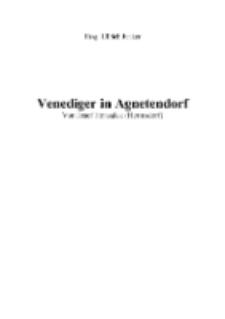 Venediger in Agnetendorf [Dokument elektroniczny]
