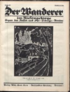 Der Wanderer im Riesengebirge, 1927, nr 8