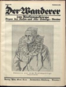 Der Wanderer im Riesengebirge, 1927, nr 10