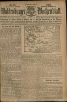 Waldenburger Wochenblatt, Jg. 59, 1913, nr 92