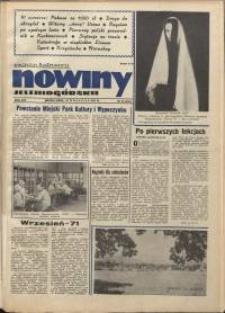 Nowiny Jeleniogórskie : magazyn ilustrowany, R. 14, 1971, nr 38 (697!)
